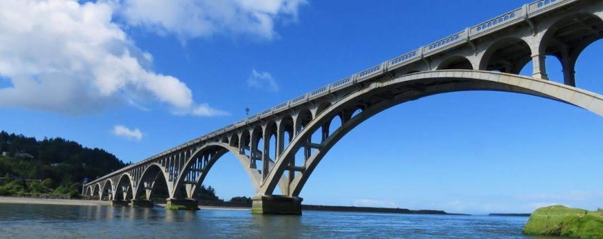 The Bridge at Gold Beach